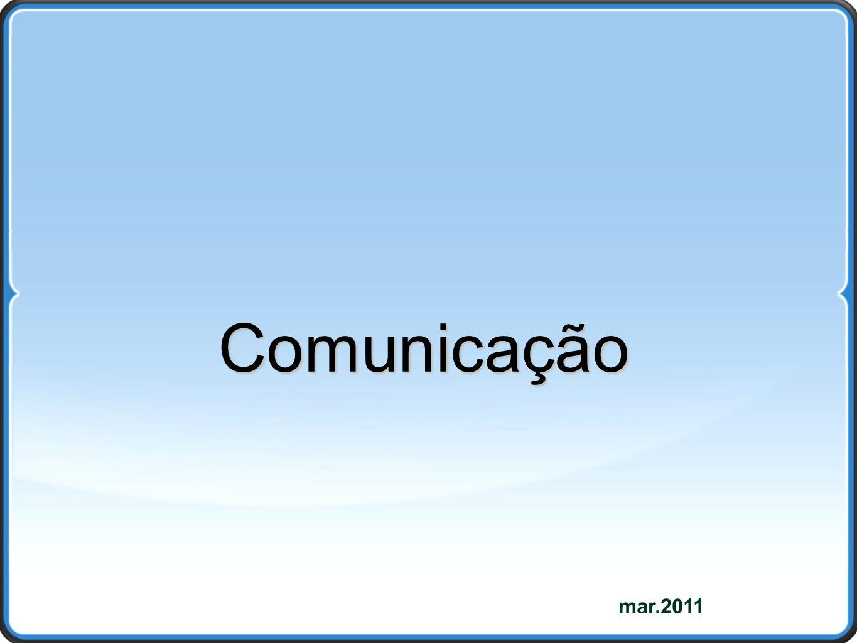 mar.2011 Comunicação