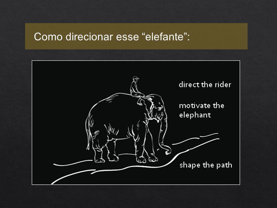 Como direcionar esse elefante :