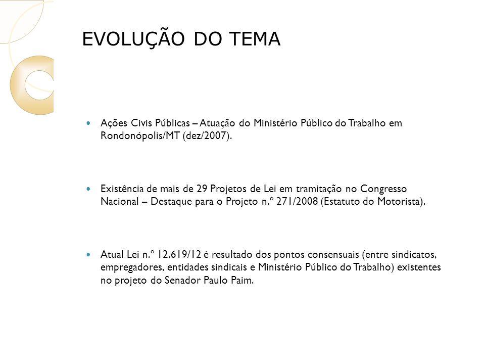 Ações Civis Públicas – Atuação do Ministério Público do Trabalho em Rondonópolis/MT (dez/2007).