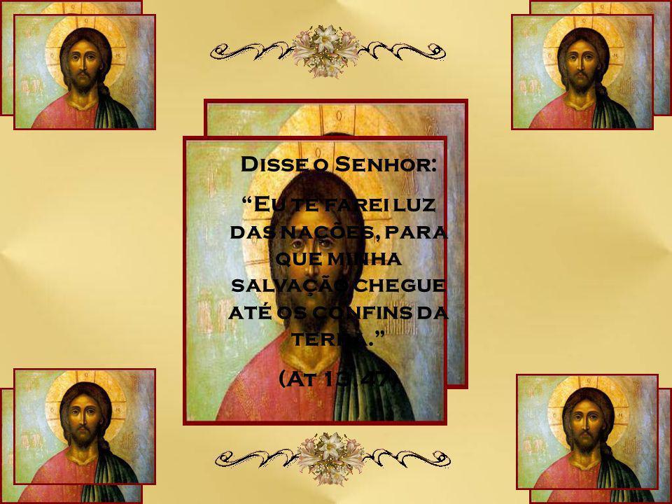 Caríssimos, O que significa para nós essa expressão dita por João Batista? Ele estava testemunhando a presença real de Jesus Cristo – O Cordeiro de De