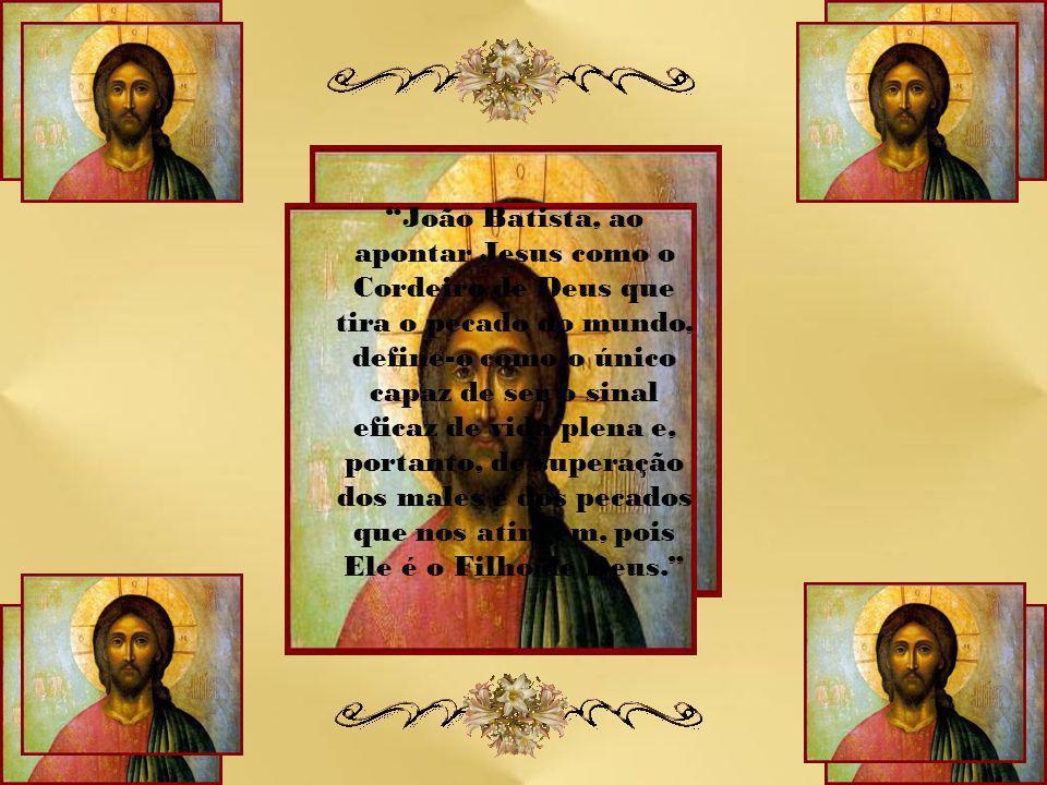 Jesus Cristo é a luz das nações que vem ao nosso encontro para nos libertar de todo o pecado, nos concedendo seu espírito.
