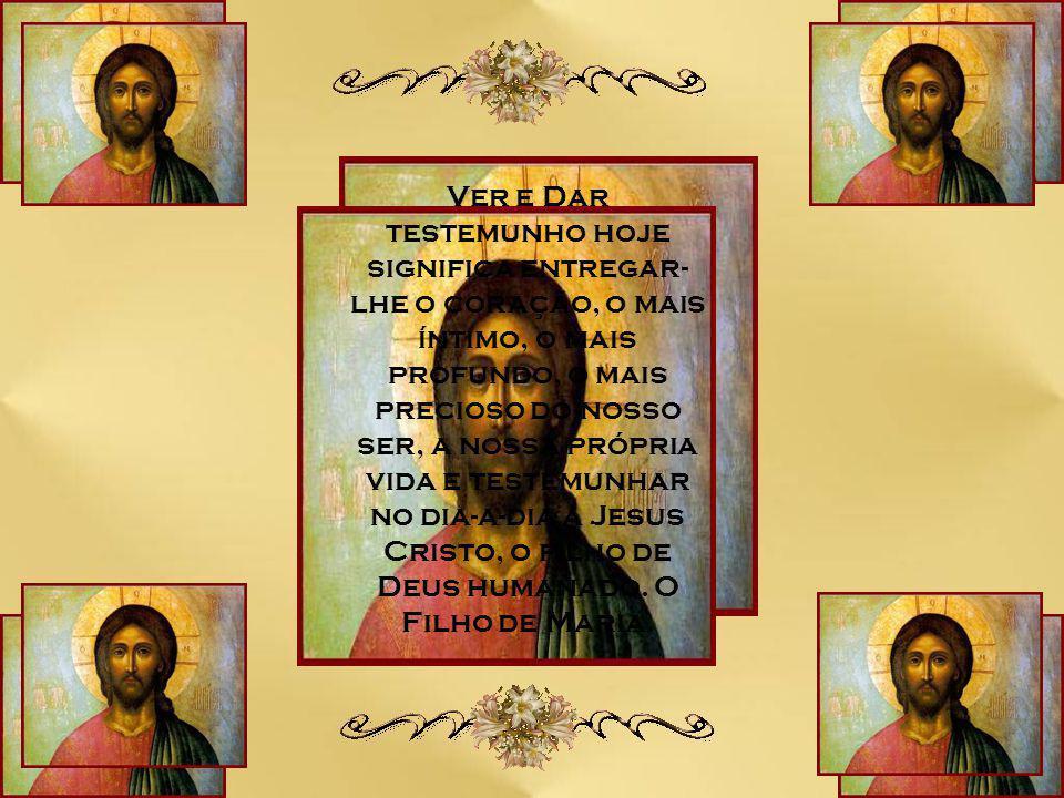 """""""Jesus é aquele que 'batiza no Espírito Santo'."""" (Jo 1,33) É neste Cordeiro que está a nossa esperança de salvação."""