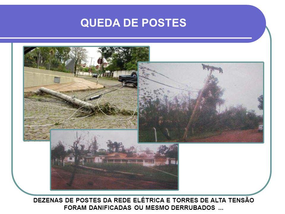 MAIS DANOS ALÉM DOS VENTOS E DA CHUVA FORTE, ALGUMAS REGIÕES DA CIDADE TAMBÉM FORAM ATINGIDAS POR GRANIZO Muro da EASA R. Barão do Rio Branco