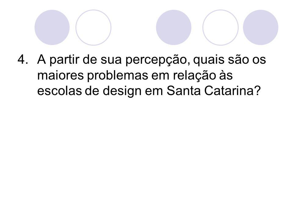 5.Quais características você mais valorizará ao escolher o curso de design.