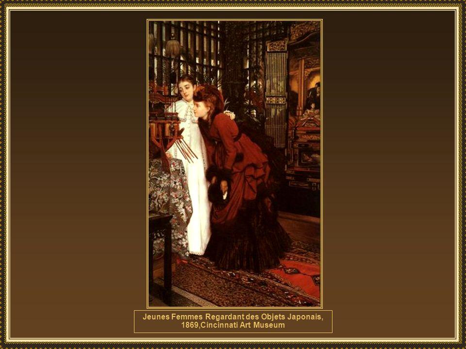 James Tissot (1836-1902) foi um pintor e ilustrador francês.