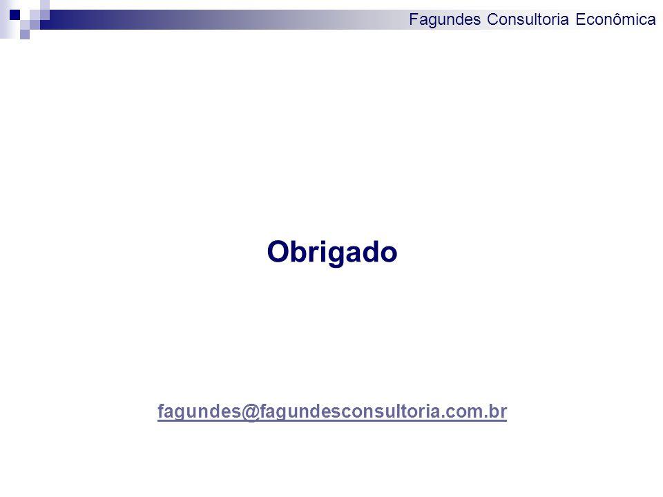 Fagundes Consultoria Econômica Obrigado fagundes@fagundesconsultoria.com.br