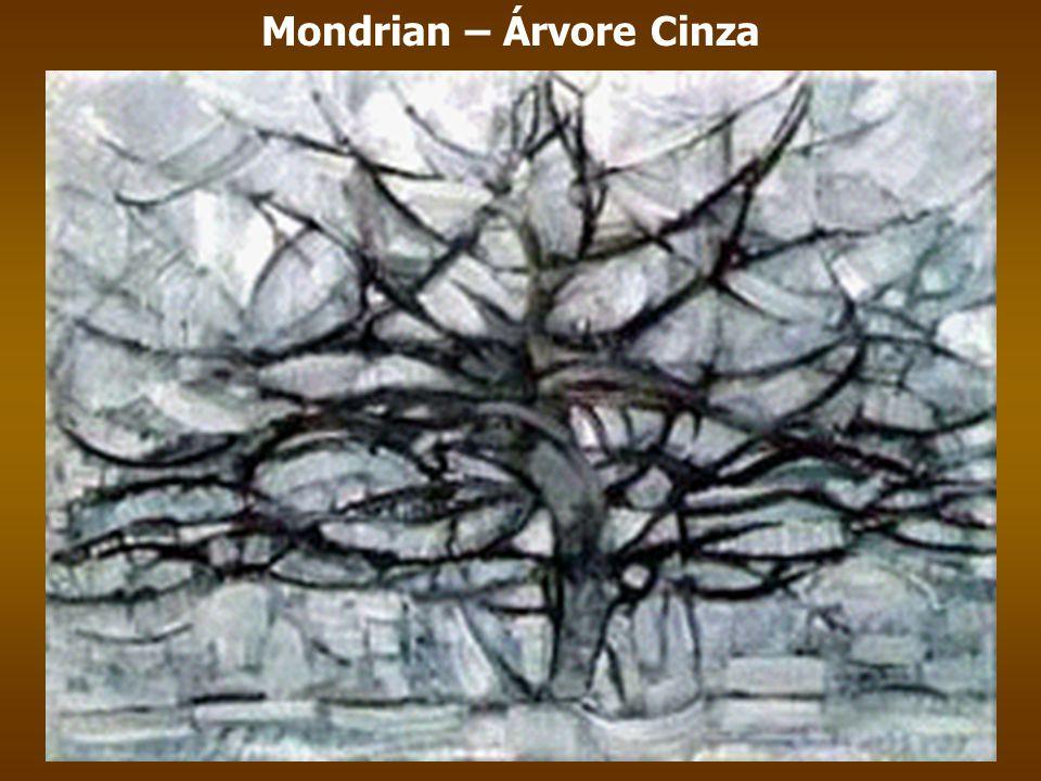 Mondrian – Árvore Cinza