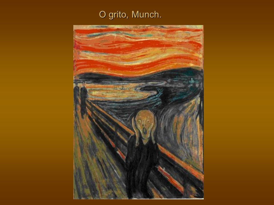 O grito, Munch.