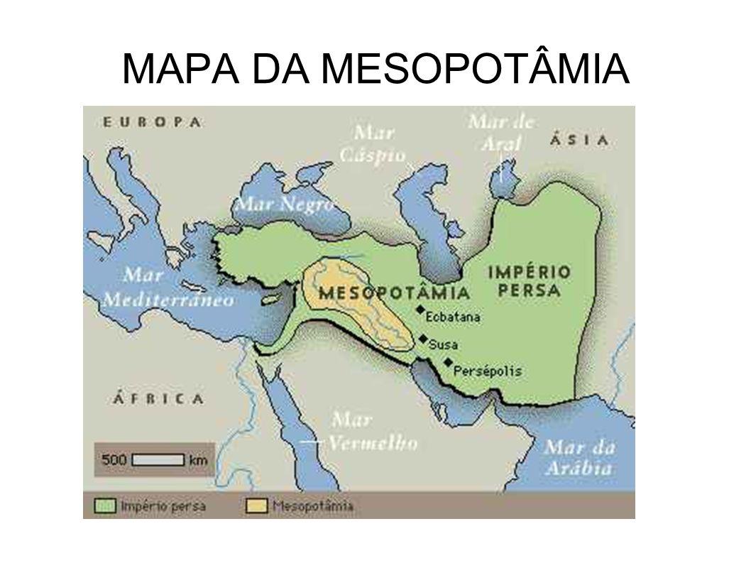 MAPA DA MESOPOTÂMIA