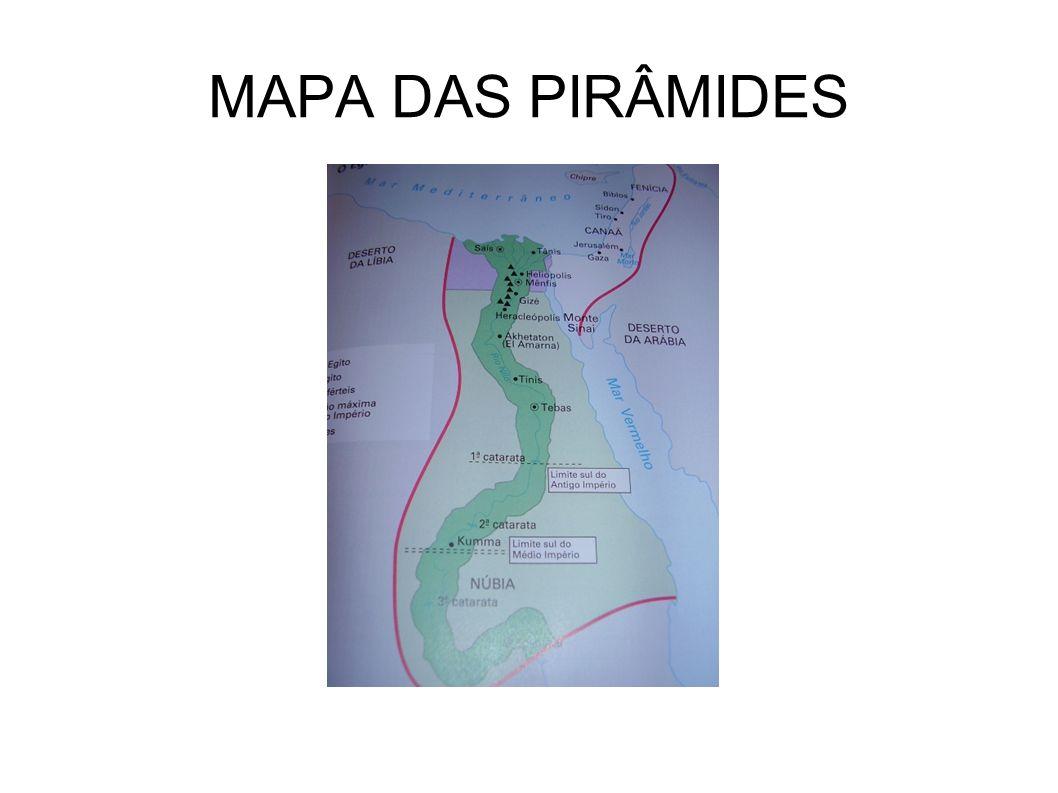 MAPA DAS PIRÂMIDES