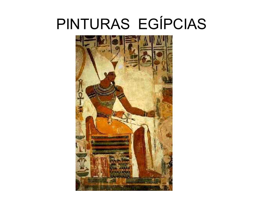 PINTURAS EGÍPCIAS