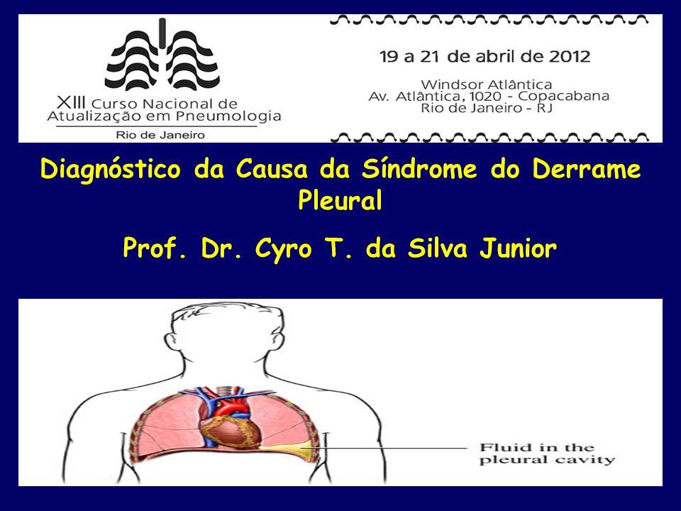 *Qui-quadrado Fonte: Ambulatório de Doenças Pleurais do Hospital Universitário Gaffrée e Guinle (UNI-RIO) e Hospital Universitário Antônio Pedro (UFF).