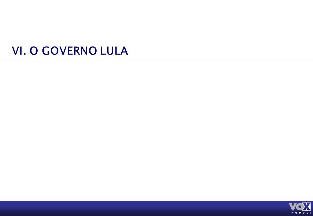 VI. O GOVERNO LULA