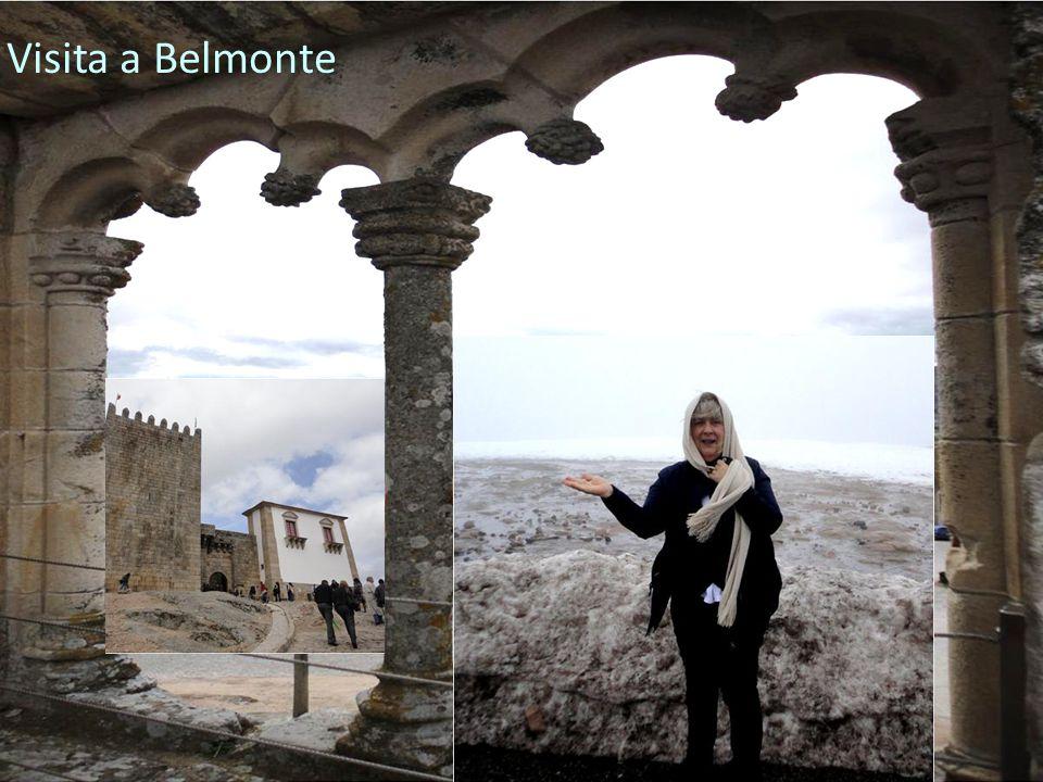 G ALA DA E DUCAÇÃO 2012 A GRUPAMENTO DE E SCOLAS DE V ILA N OVA DE P OIARES Visita a Belmonte