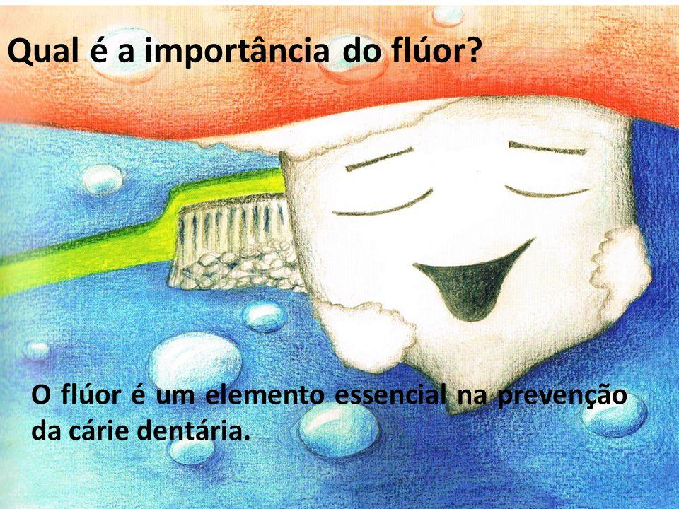 O flúor é um elemento essencial na prevenção da cárie dentária. Qual é a importância do flúor?