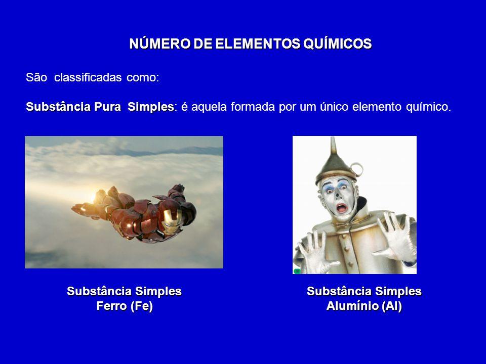 Substância Pura Composta: Substância Pura Composta: é aquela formada por mais de um tipo de elemento químico.