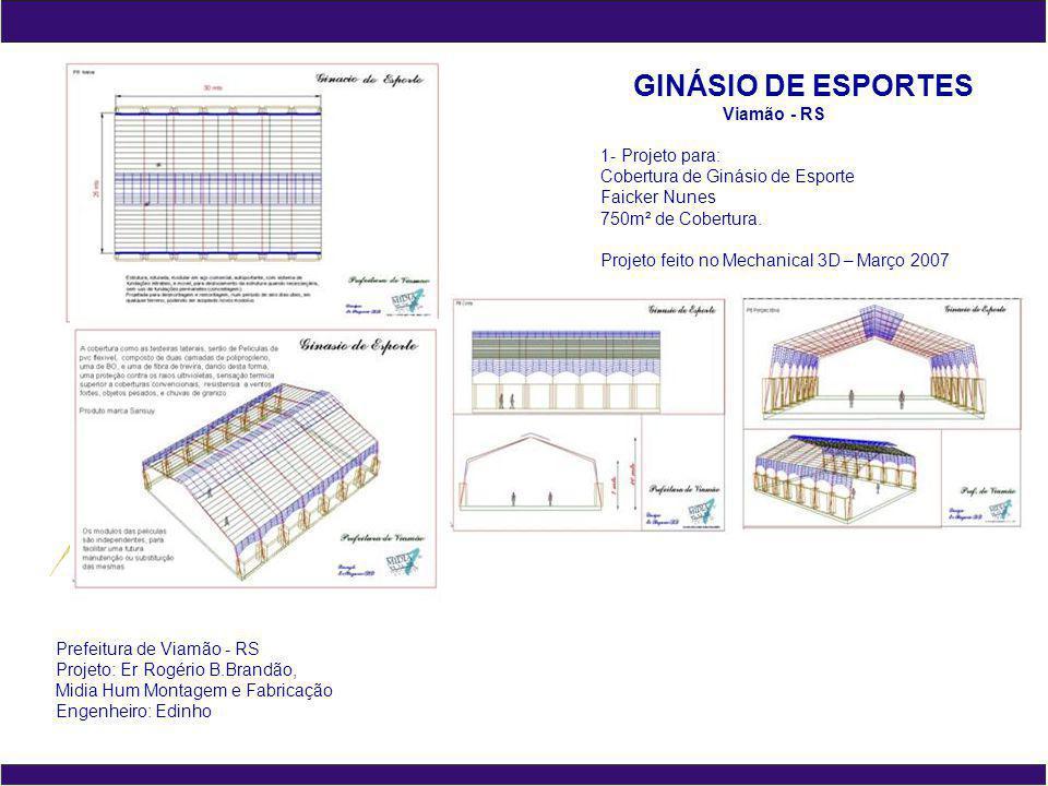 OKTOBERFEST Igrejinha - RS 1- Projeto para: Cobertura de Ligação Pavilhão 2 e 3 300m² de Cobertura.