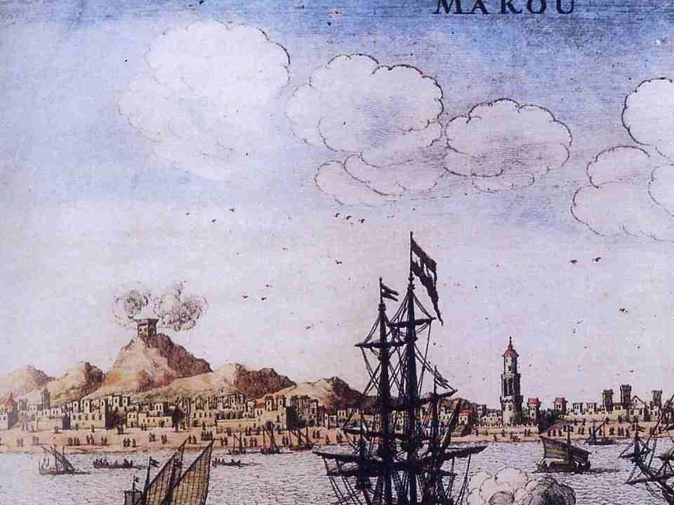  O Brasil foi o primeiro alvo a ser atacado pelos holandeses.