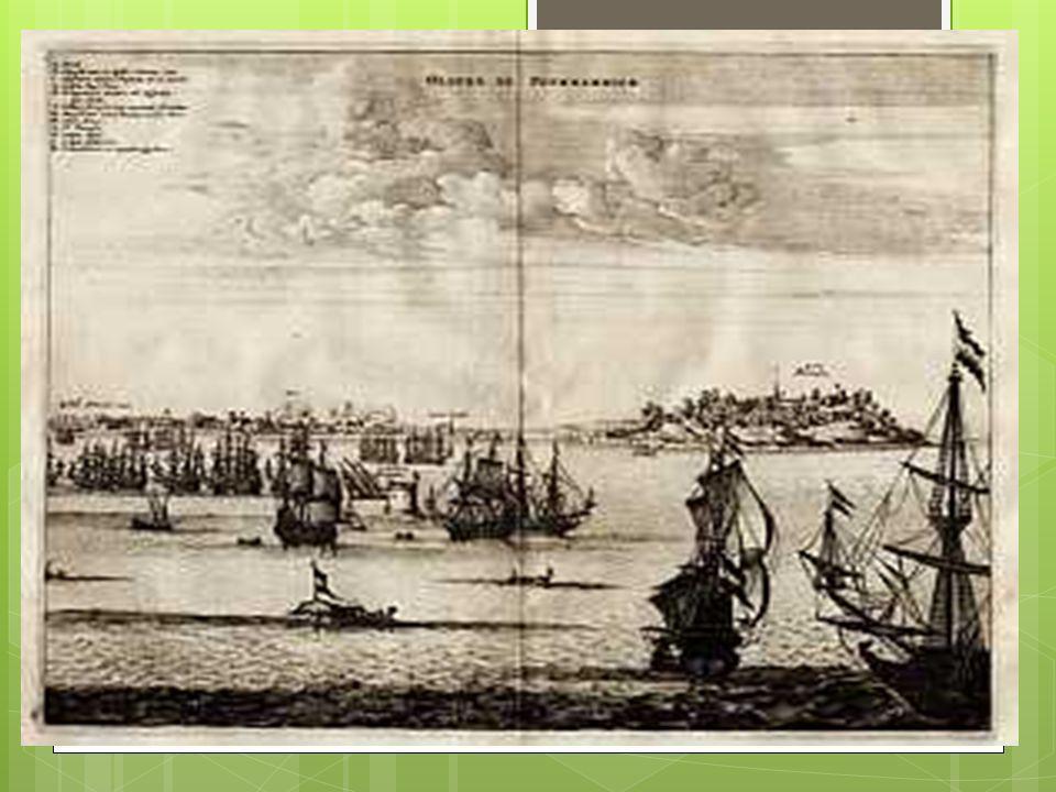  Em maio de 1625 uma frota portuguesa consegue expulsar os holandeses, mas, durante o tempo em que os invasores estiveram ali, foi o suficiente para aprenderem o até então modelo exclusivo de produção escravista dos portugueses no trabalho com engenhos.