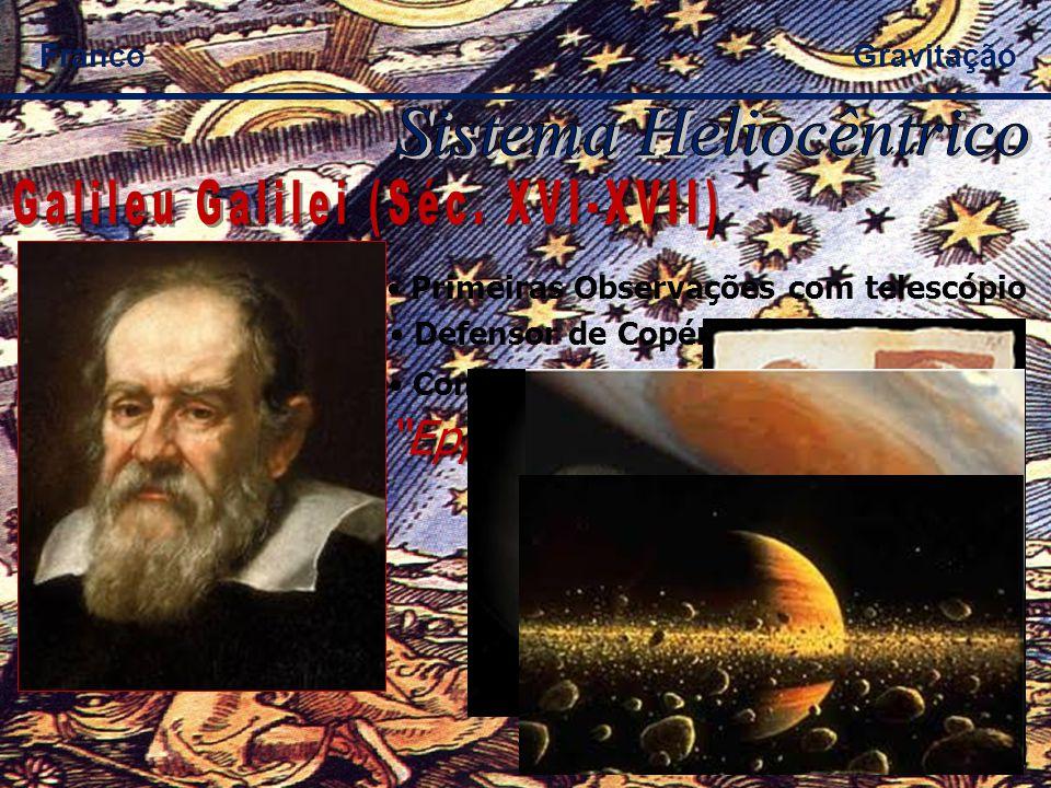 Aceitou Heliocentrismo; Cada estrela é um Sol; Presença de outros Planetas; Presença de outros seres.