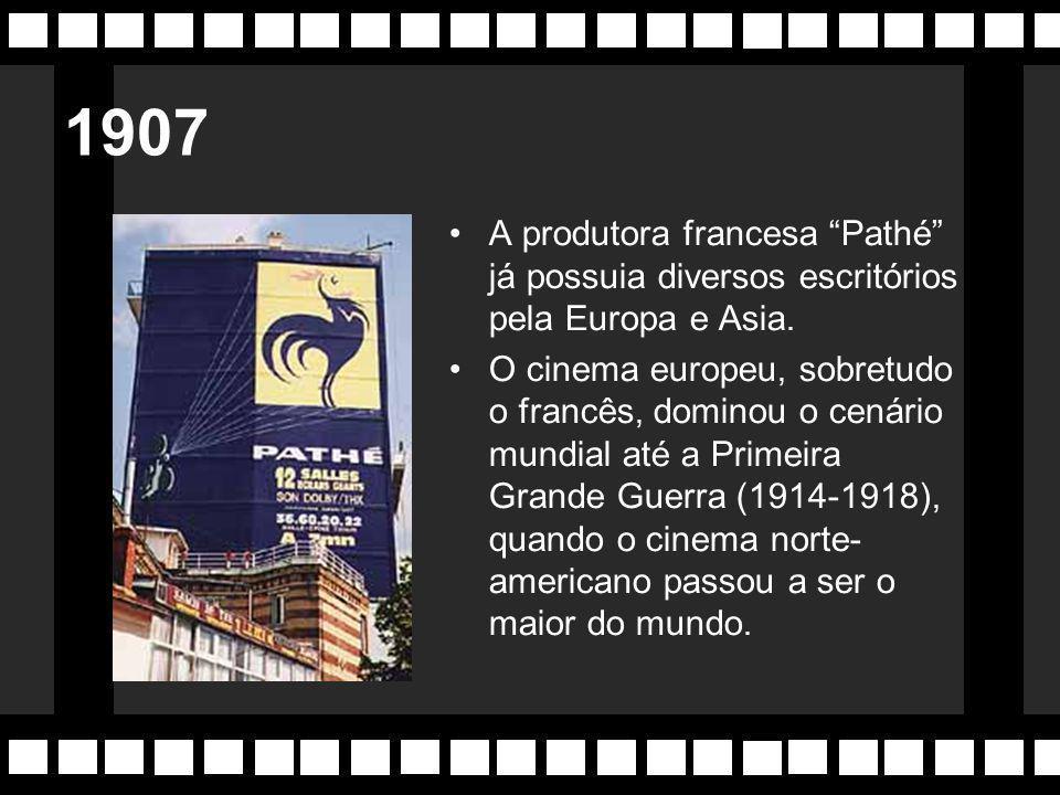 Georges Méliès (1861-1938) França Considerado o pai da arte cinematográfica, foi diretor, ator, produtor, fotógrafo e figurinista.