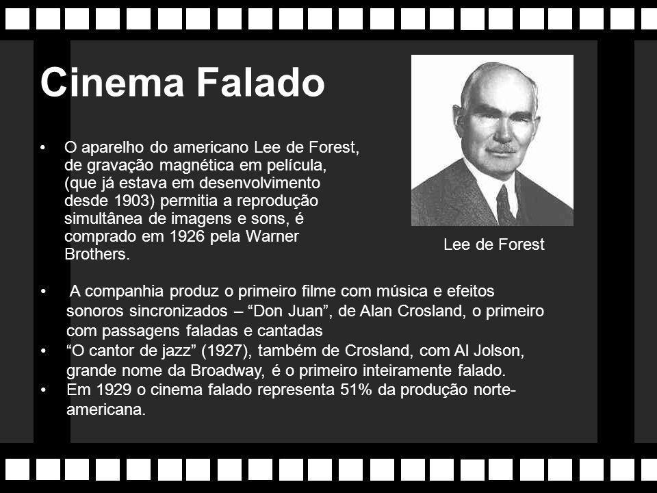 Sergei Eisenstein (URSS) Cineasta cria um novo elemento na linguagem cinematográfica, a significação. Eisenstein fez da edição uma arte, fazendo surgi