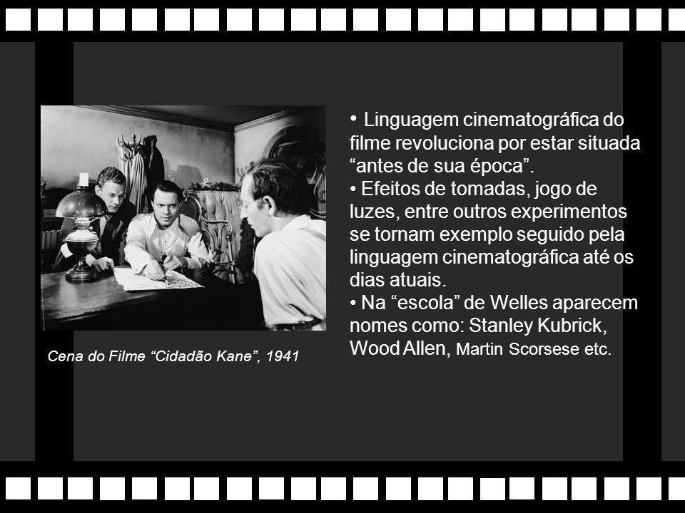 """""""Cidadão Kane"""" (1941) De Orson Welles, jovem diretor de apenas 25 anos. Tido como o """"melhor filme de todos os tempos"""". Megalomaníaco, Welles fez histó"""