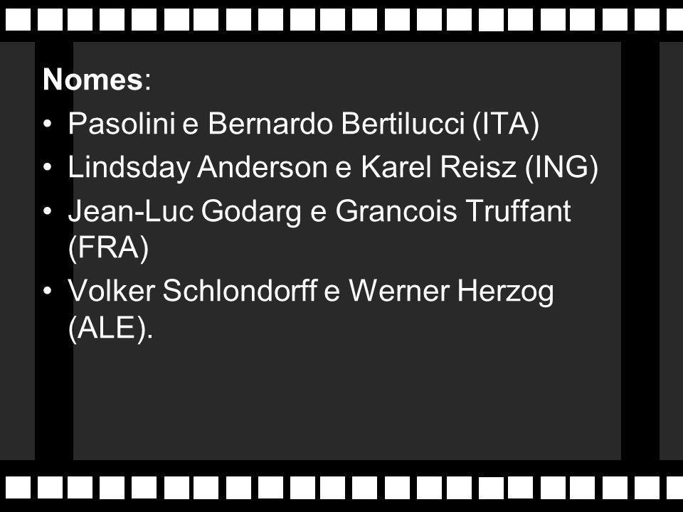 Na Alemanha o Cinema Novo se molda no Expressionismo do início do século, onde aparece Werner Herzog de O Enigma de Kaspar Hausen .