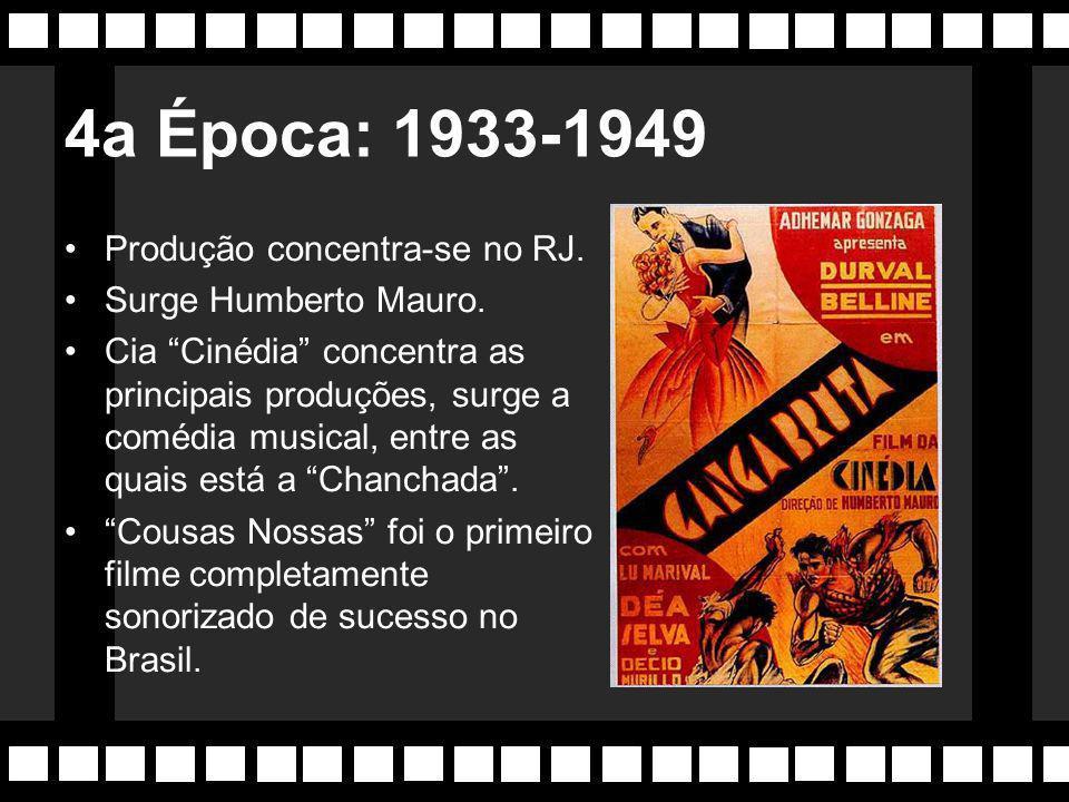 Aparecem revistas críticas de cinema, entre as quais: Selecta , Paratodos e Cinearte , esta última depois deu origem a Cia Cinematográfica Cinédia , onde estreou Carmem Miranda.