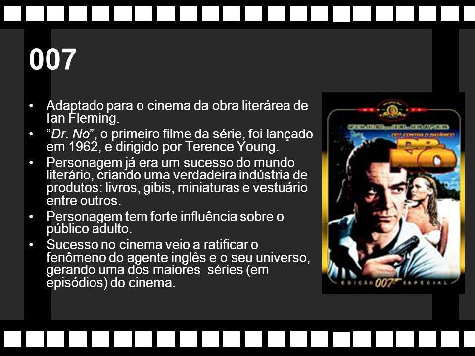 Anos 60 Década marcou o ressurgimento do genêro Ficção-Científica com filmes de grande sucesso.