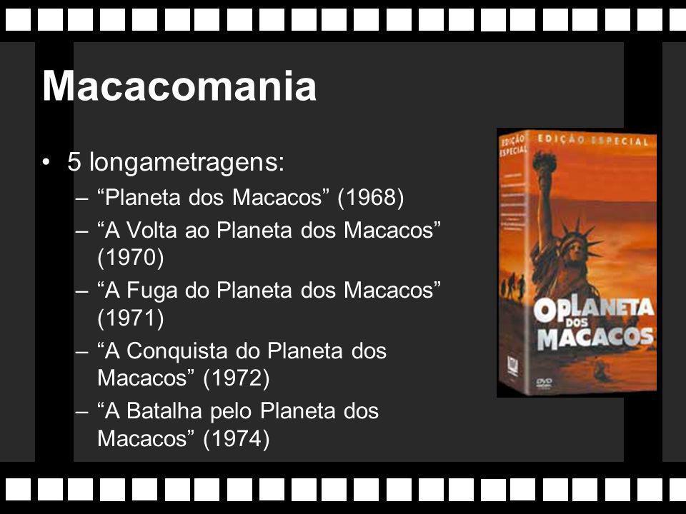 Filme trouxe de volta o conceito de série cinematográfica (ou cinessérie), abandonado desde a década de 30 com: Drácula (30), Frankestein (31), A Múmia (31) e as séries dos filmes Batman e Tarzan da década de 40.