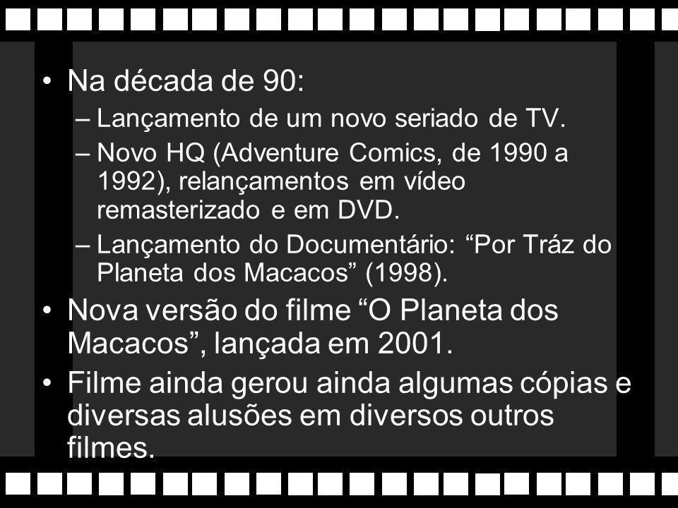 Seriado de TV com 14 episódios (1974), depois adaptados em 5 novos longametragens.