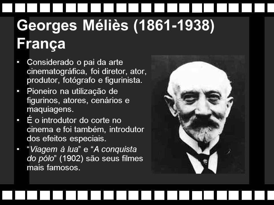 Cinema Mudo (1896-1927) Primórdios do cinema, onde foram estabelecidas as bases de sua linguagem que perduram até hoje. No início, o cinema era voltad