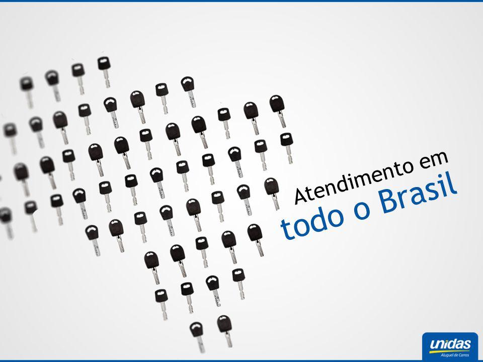 todo o Brasil Atendimento em