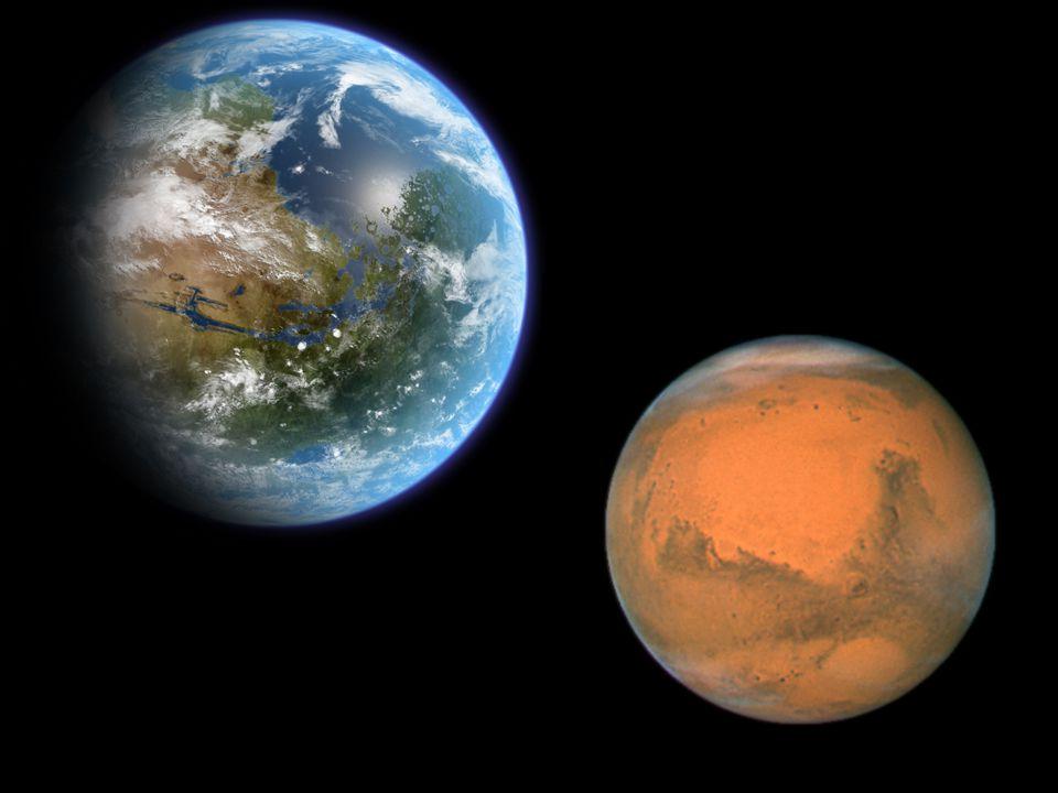 Nos meses de Junho e Julho a Terra estará mais perto de Marte e será a maior proximidade de que se tenha conhecimento entre estes dois planetas.