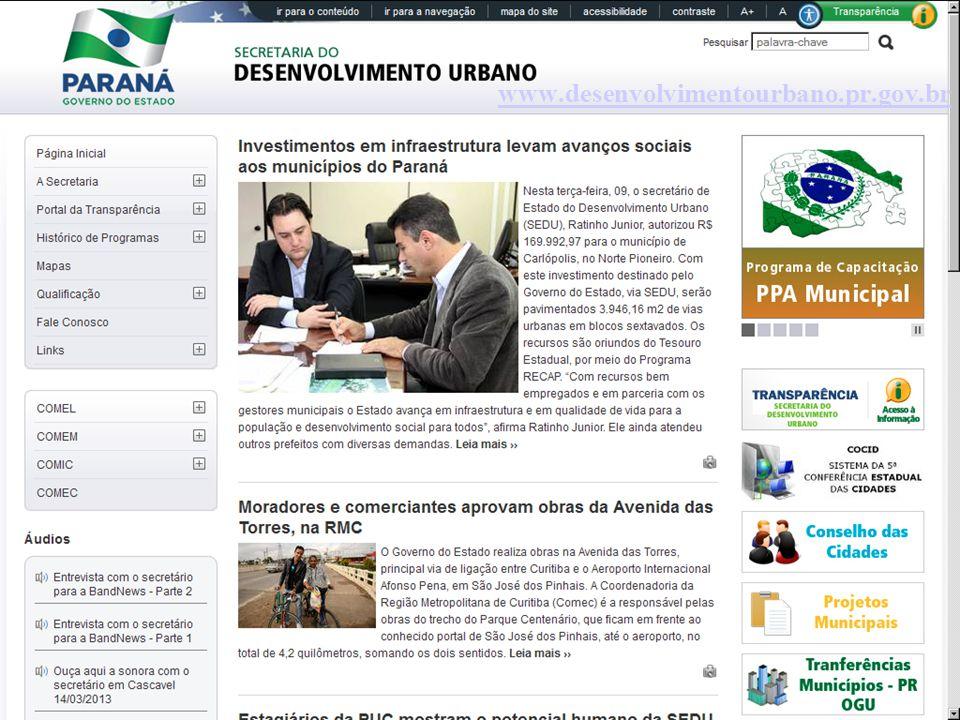 www.desenvolvimentourbano.pr.gov.br