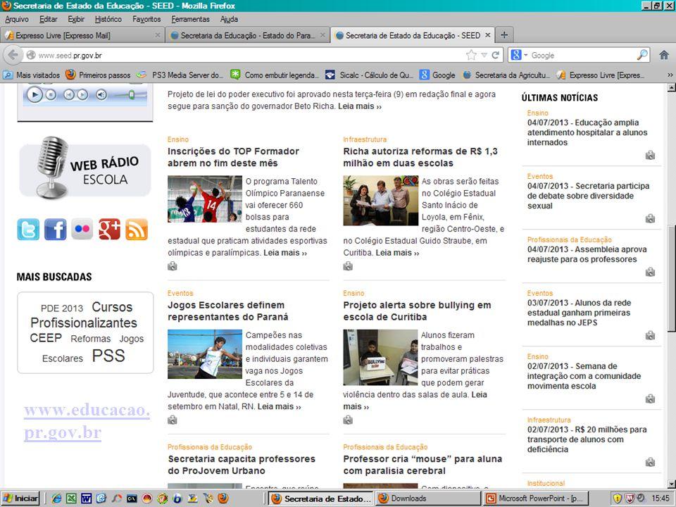www.educacao. pr.gov.br