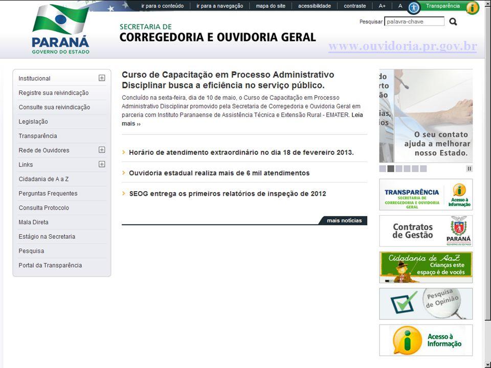 www.ouvidoria.pr.gov.br