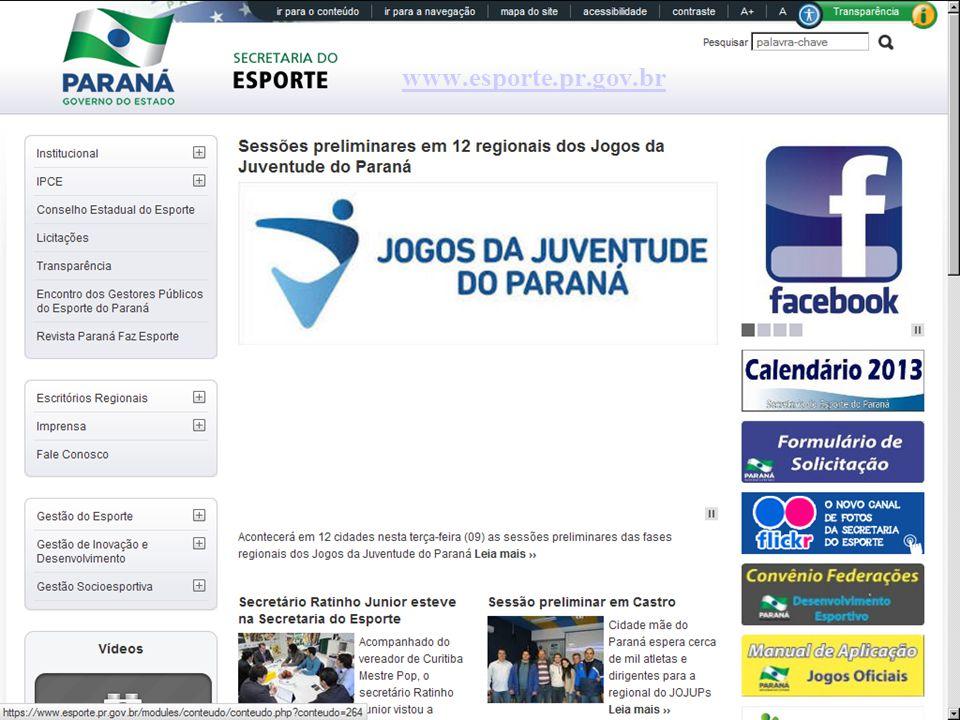 www.esporte.pr.gov.br