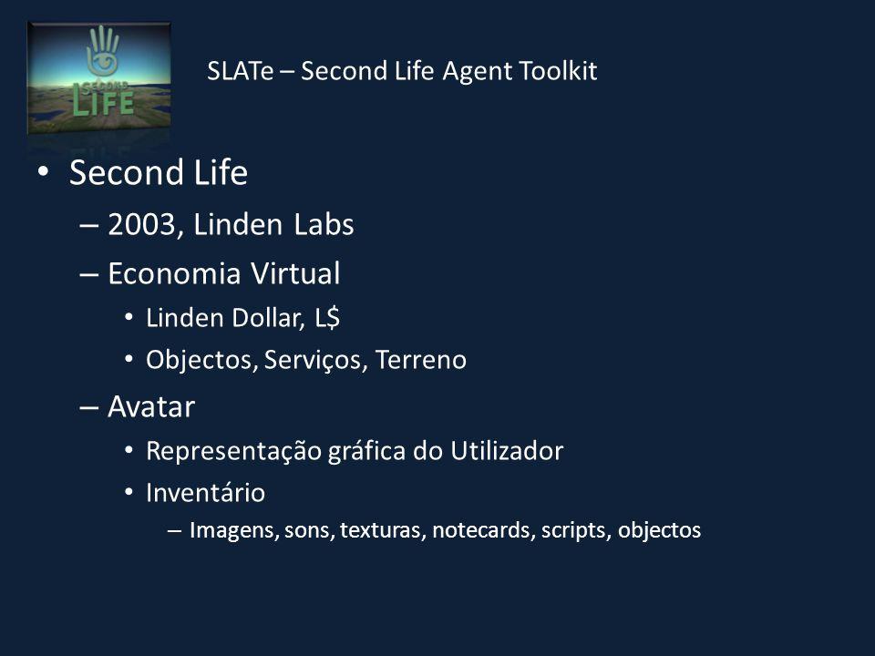SLATe – Second Life Agent Toolkit Implementação