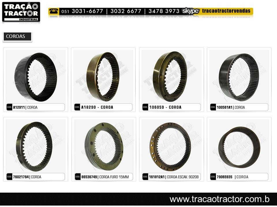 www.tracaotractor.com.b r ENGRENAGENS DO TANDEM