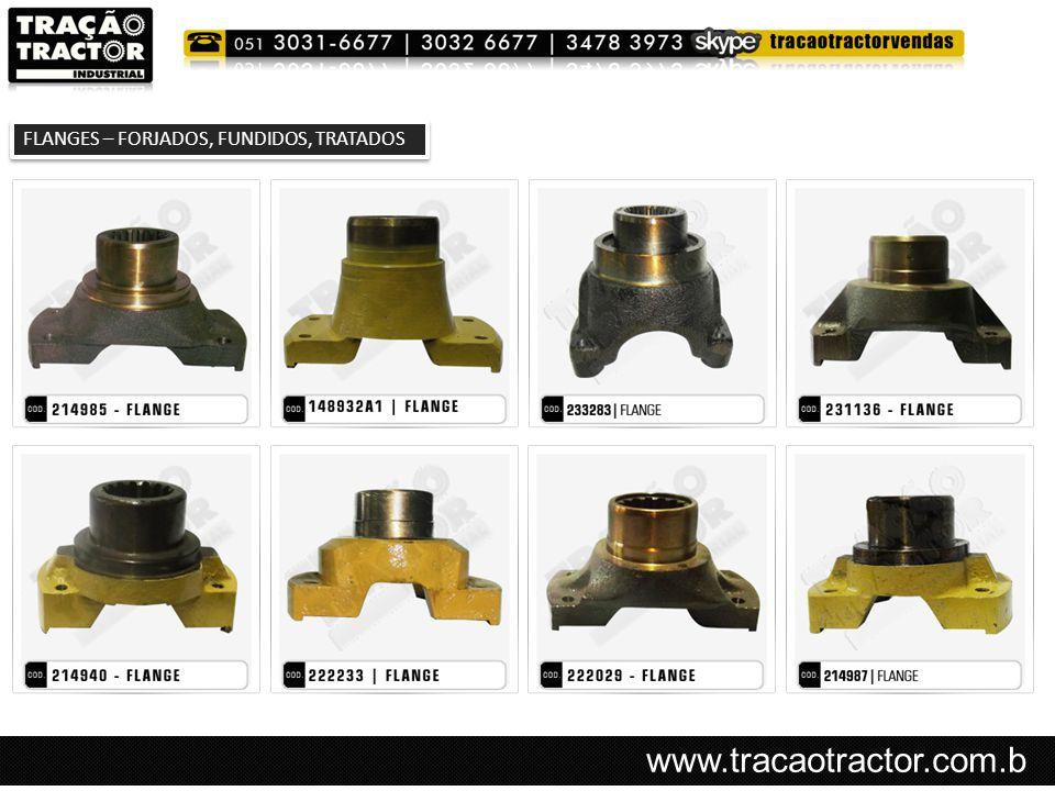 www.tracaotractor.com.b r FLANGES – FORJADOS, FUNDIDOS, TRATADOS
