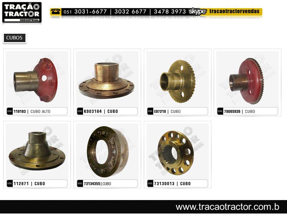 www.tracaotractor.com.b r CUBOS