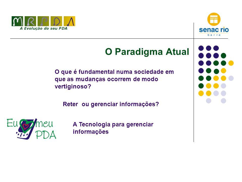 O Pda como instrumento do Aluno Digital - 1 Organização e método são 90% do caminho!!.