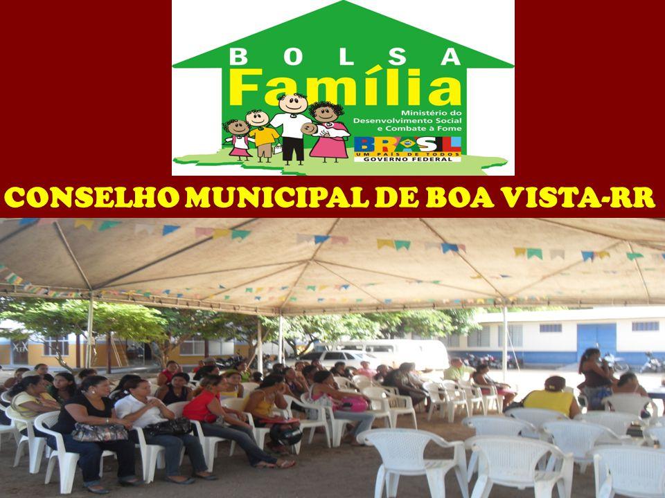 CONSELHO MUNICIPAL DE BOA VISTA-RR