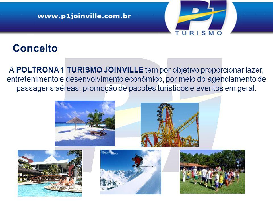 Agência de viagens P1 Turismo Joinville, está com as portas abertas para você desde novembro de 2010.