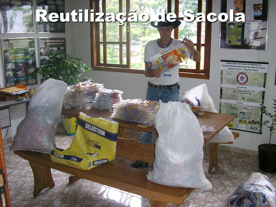 Reutilização de Sacola