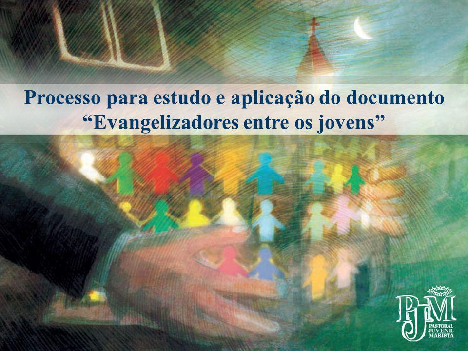 """Processo para estudo e aplicação do documento """"Evangelizadores entre os jovens"""""""