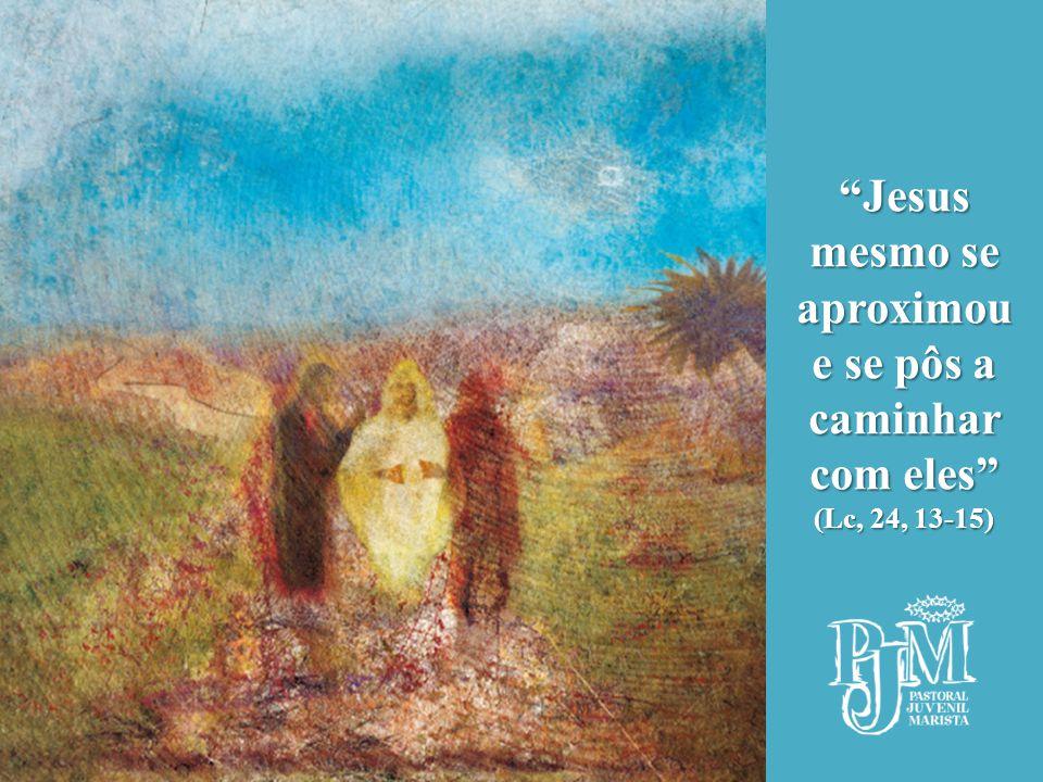 """""""Jesus mesmo se aproximou e se pôs a caminhar com eles"""" (Lc, 24, 13-15)"""