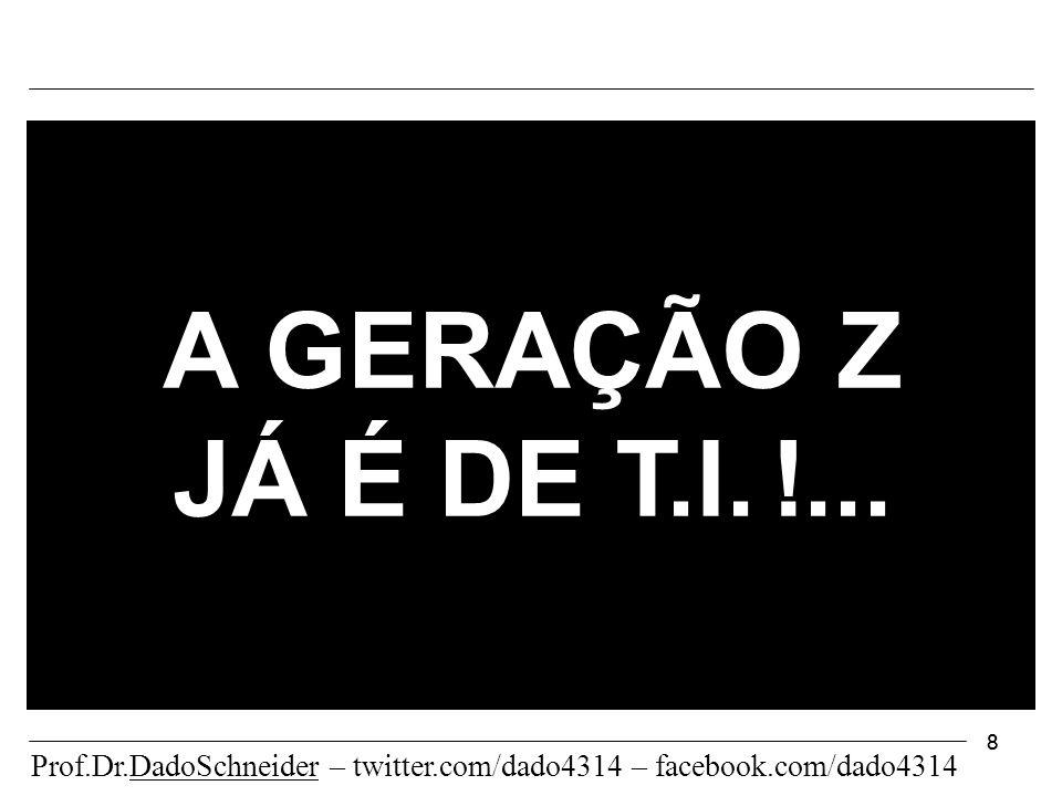 88 A GERAÇÃO Z JÁ É DE T.I. !...